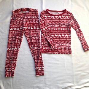 GAP Kids Christmas Pajamas Fairisle
